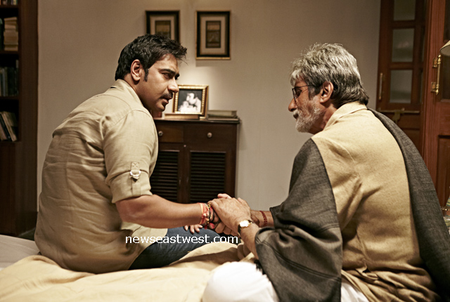 Amitabh and ajay devgn in satyagraha