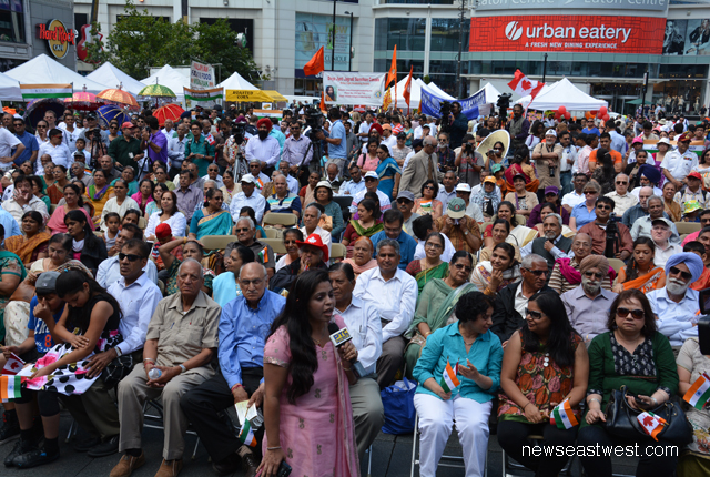India Independence Day celebrations in Toronto, August 10.