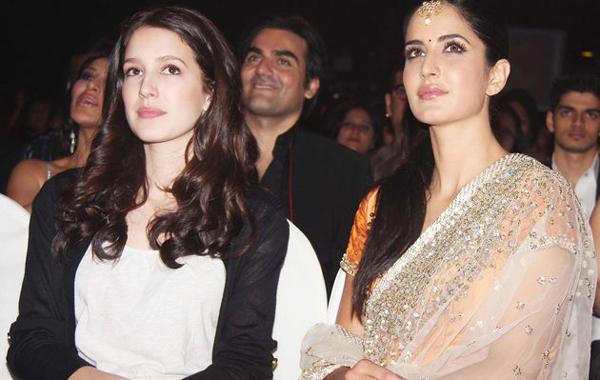 Katrina Kaif with sister