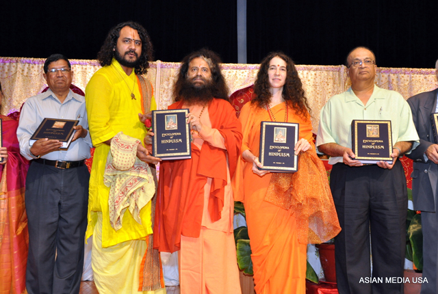 Launch of Encyclopaedia of Hinduism in Chicago