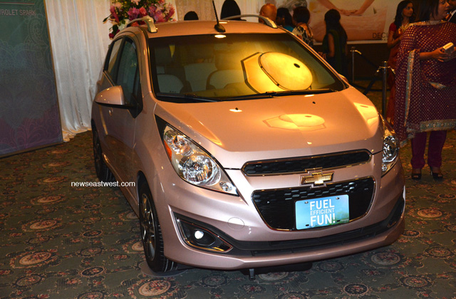 Harleen Malhans drove away with the crown and this brand-new Chevrolet Spark.