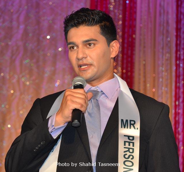 Mr Pakistan 2013 Shayan Farooqi.
