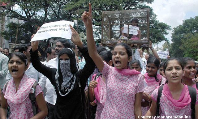 Mumbai gangrape protests