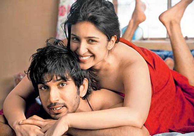 Parineeti Chopra and Sushant Singh Rajput in Shuddh Desi Romance that releases this Friday.