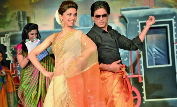 Shahrukh Khan and Deepika