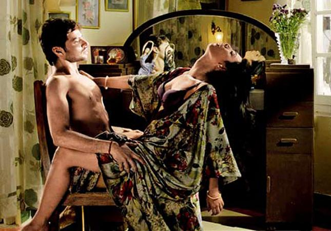 Shilpa Shukla in a hot scene in BA Pass