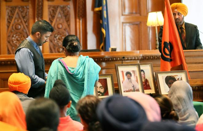 Sikh victims of Oak Creek shooting remembered on first anniversary