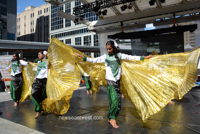 OUR SHARED CULTURE: A Sri Lankan Tamil troupe from Toronto performs at India Day celebrations.