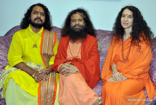 Swami and Sadhvi