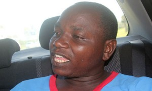 Sylvester Mwendwa, one of the two husbands who had agreed to share a woman