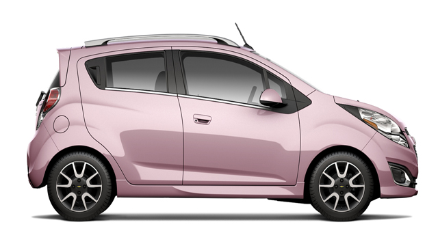 chevy-spark for Miss India Canada winner 2013