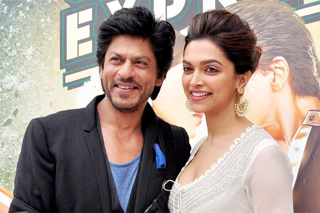 deepika and shahrukh chennai express