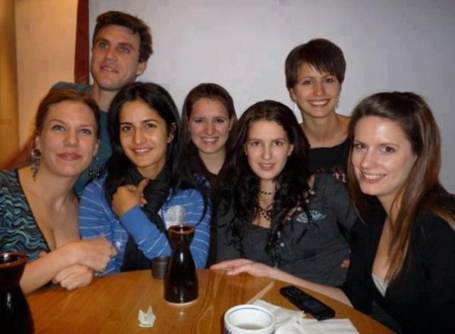 Katrina with siblings