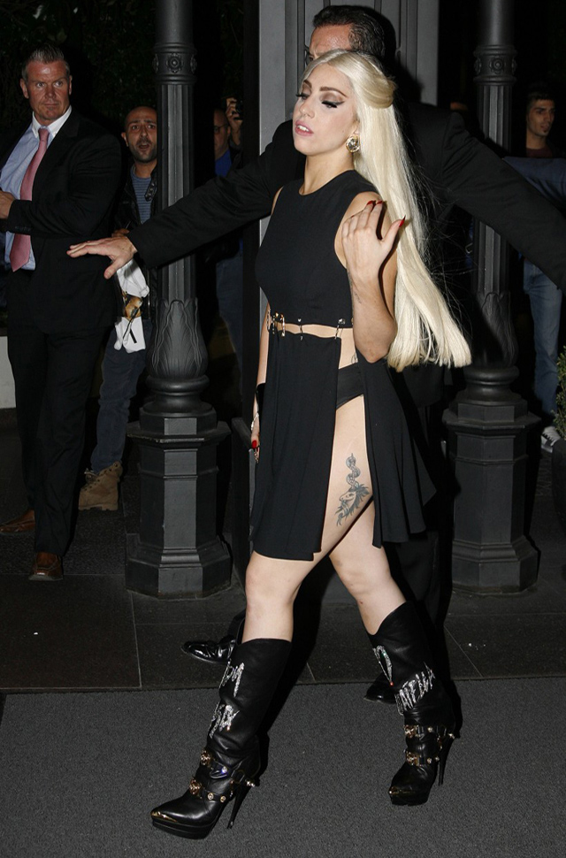 Lady Gaga slids to third spot on Twitter
