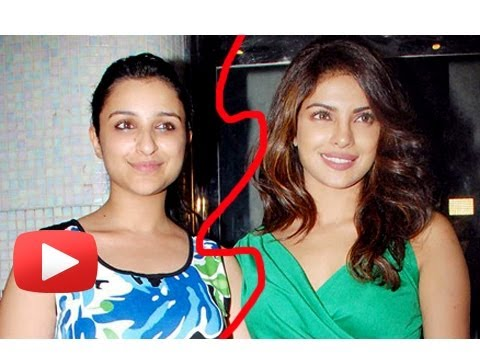 Priyanka Chopra, Parineeti Chopra war