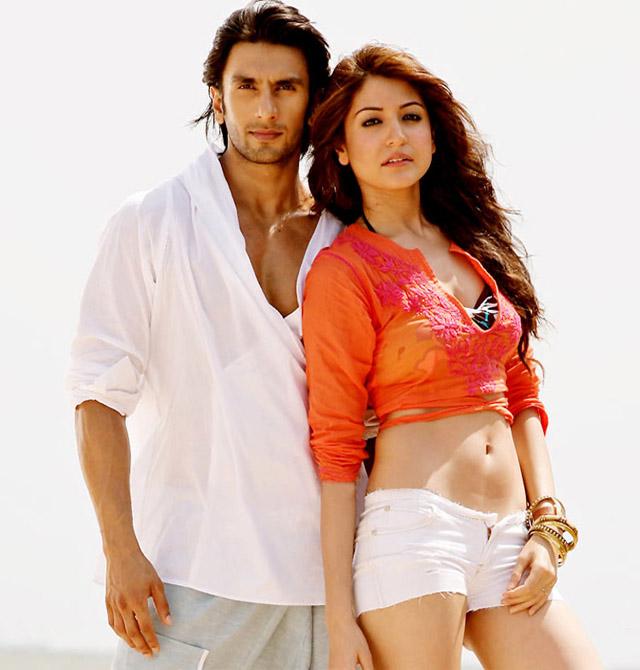Anushka with her ex-lover Ranveer Singh