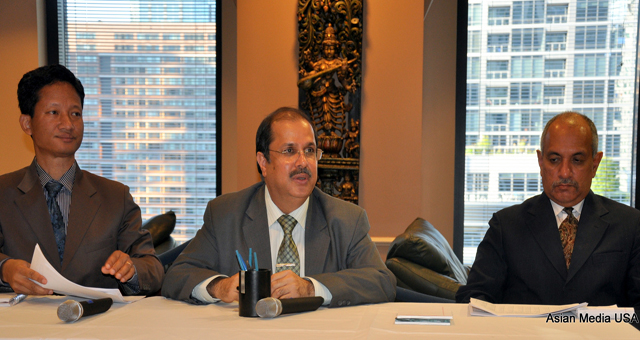 Indian consul general in Chicago Dr Ausaf Sayeed