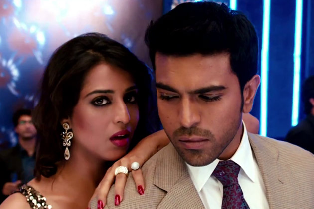 Mahie Gill and Ram Charan in Zanjeer