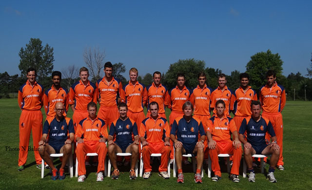 The Netherlands team.