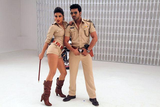 Sexy cop Priyanka with Ram Charan in Zanjeer