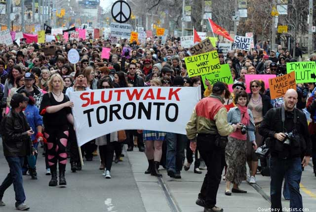 Slutwalk in Toronto in 2011