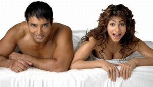 Tanisha Mukherjee with Uday Chopra in the film Neal and Nikki