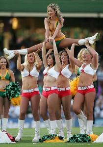 cheerleaders at IPL