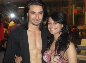 Sexy Candy Brar (right) seen with Rafi Malik