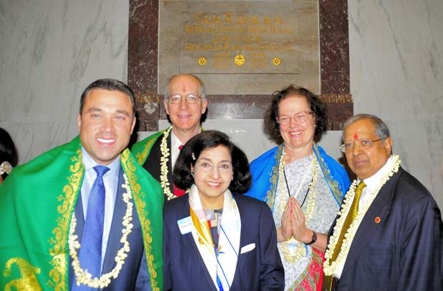 Some of the US lawmakers joined Diwali celebrations at Capitol Hill