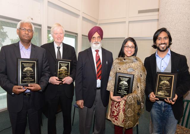 Those honoured at the Gadar Movement seminar by the Khalsa Diwan Society, vancouver