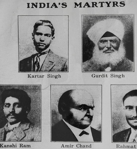 NRI heroes of India's freedom movement from North America