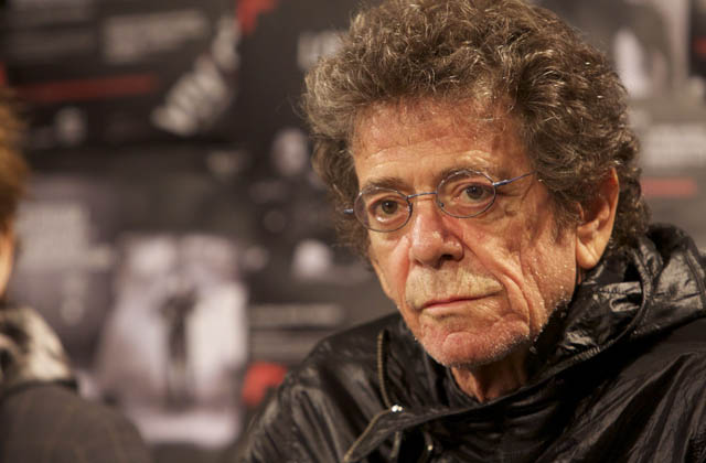 Lou Reed: Rock icon unites with his Father!