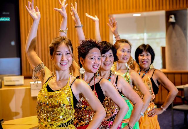 `Made In India' dance by Vivian Chan, Irene Shum, Linda Dee, Marie Liu and Aida Bhargava