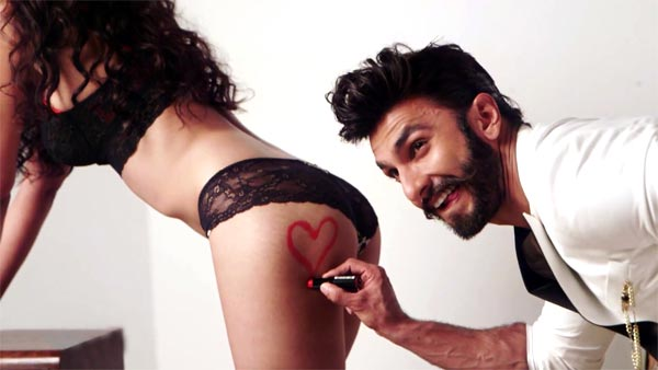 Ranveer gets cheeky