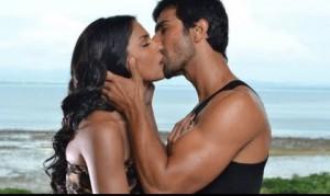 Veena Malik and her former boyfriend Ashmit Patel