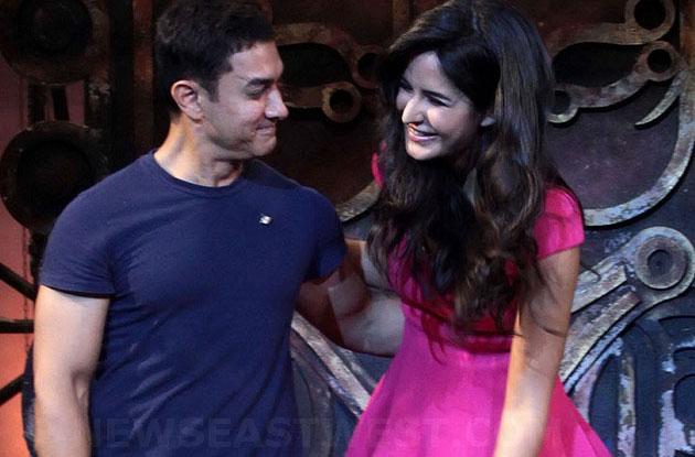 Aamir with Katrina