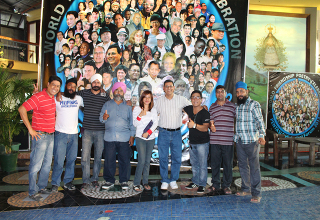 Friends from Ashok Bhargava's native Punjab
