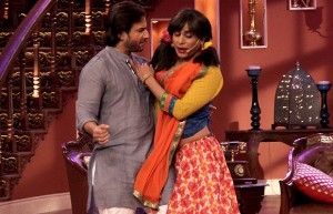 Gaurav Gera (right) replaces Gutthi on Comedy Nights