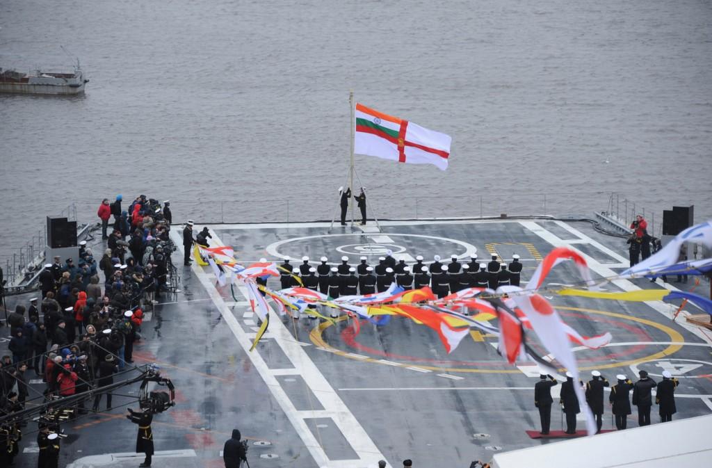 INS Vikramaditya inducted into Navy