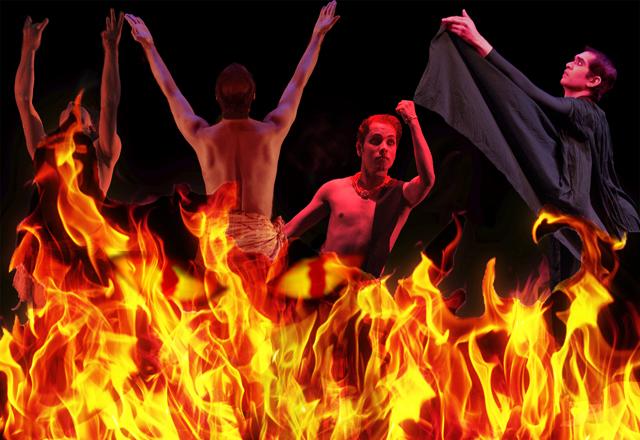 Janak Paradise Lost - Composite Fire with Dancers