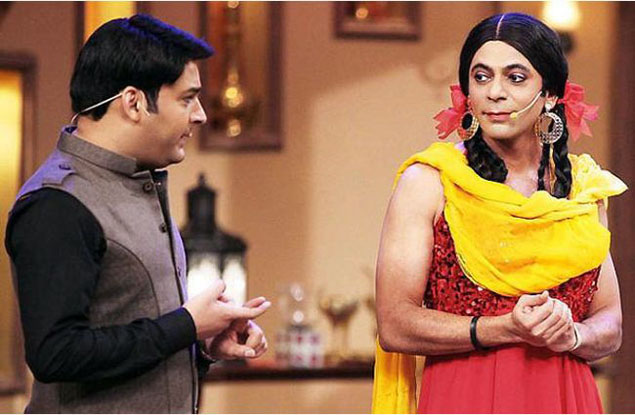 kapil and sunil grover gutthi