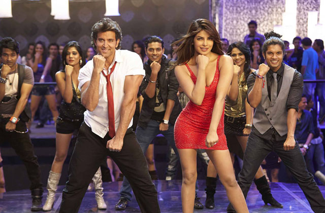 Priyanka and Hrithik