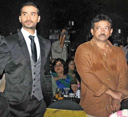 Puneet Singh Ratn seen with Ram Gopal Varma