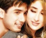 Shahid Kapoor with former girlfriend Kareena Kapoor