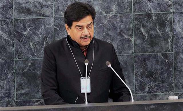 Shatrughan Sinha at the UN