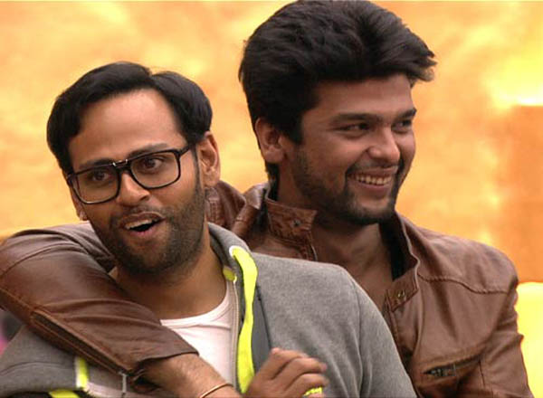 Kushal with Andy