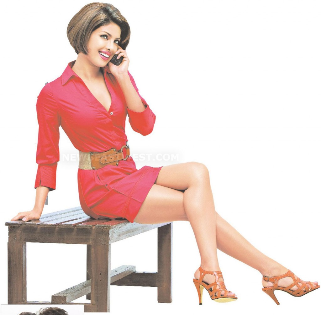 Priyanka voted Bollywood babe with best legs