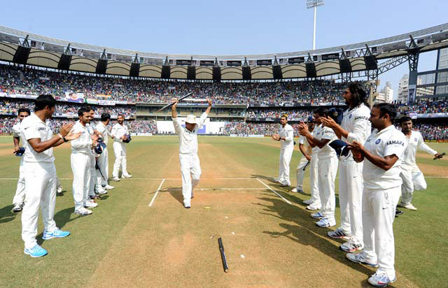 Bharat Ratna for Sachin as he retires from cricket with tears in his eyes