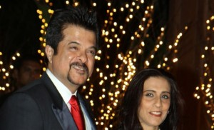 anil kapoor seen with wife