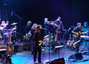 Members of the Classic Albums Live performing Band on the Run